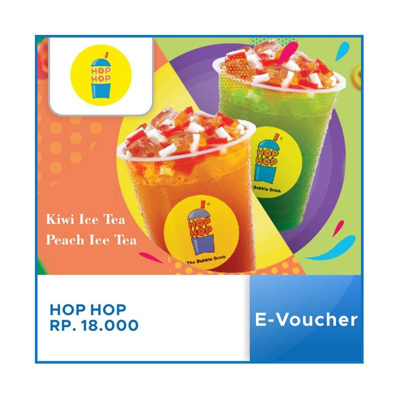 Hop Hop Bubble Drink E-Voucher [Rp.18.000]