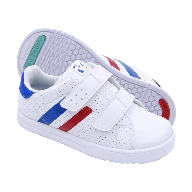 Toezone Kids Flagstaff Ch Sepatu Anak Laki-laki - White Royal