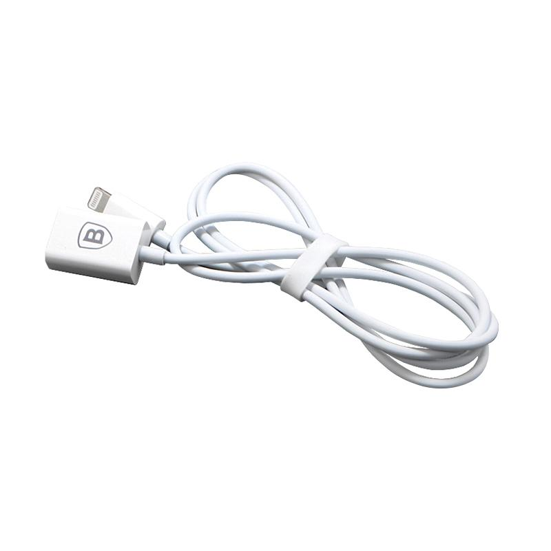 Baseus Apple Lightning Extension Cable - White