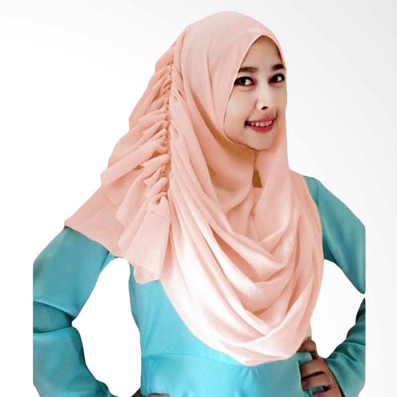 Kus Group Hijab Cassanova Kerudung - Peach