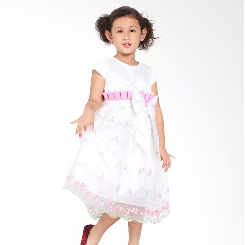 Pretty Girl 2ESTELLA Dress Anak - White