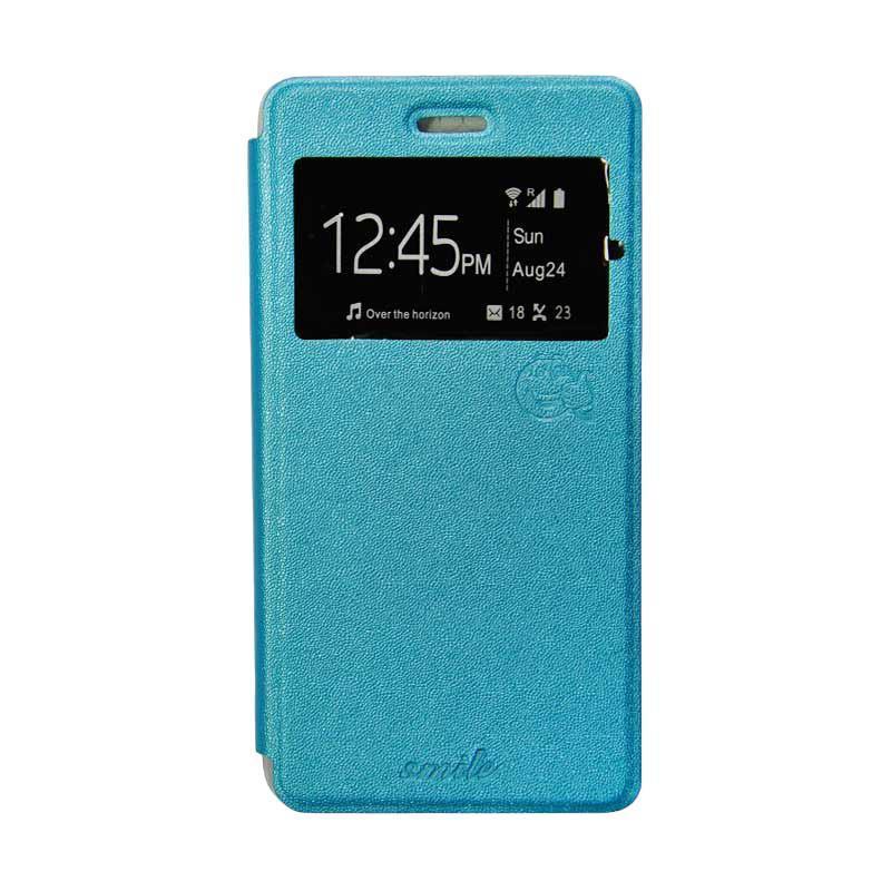 Jual SMILE Flip Cover Casing for Samsung Galaxy J5 2016 J510 - Biru Muda Online - Harga & Kualitas Terjamin | Blibli.com