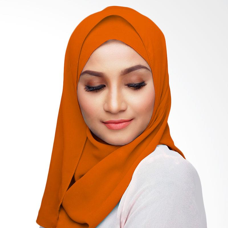 Aitana Hijab KD033 Kerudung Polos Segiempat - Orange