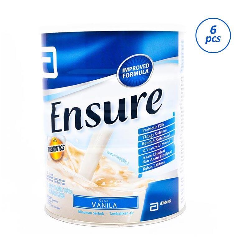 Ensure Vanila Susu Formula [1000 g/6 pcs/Karton]