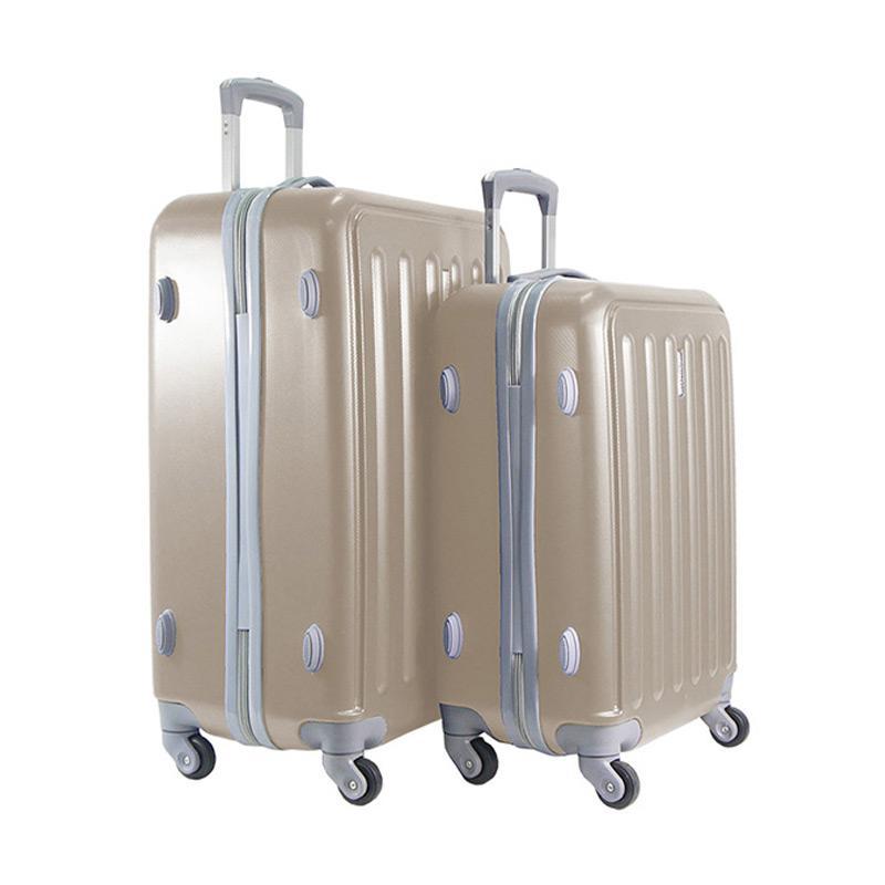 Polo Twin HD 1610 Troley Bag Set - Gold [20 dan 24 Inch]