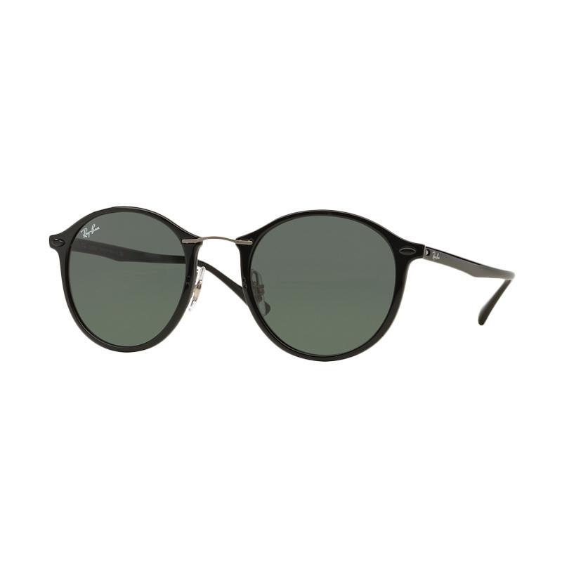 Ray-Ban RB4242 Sunglasses - Black [601-71/ Size 49/ Grey Green]