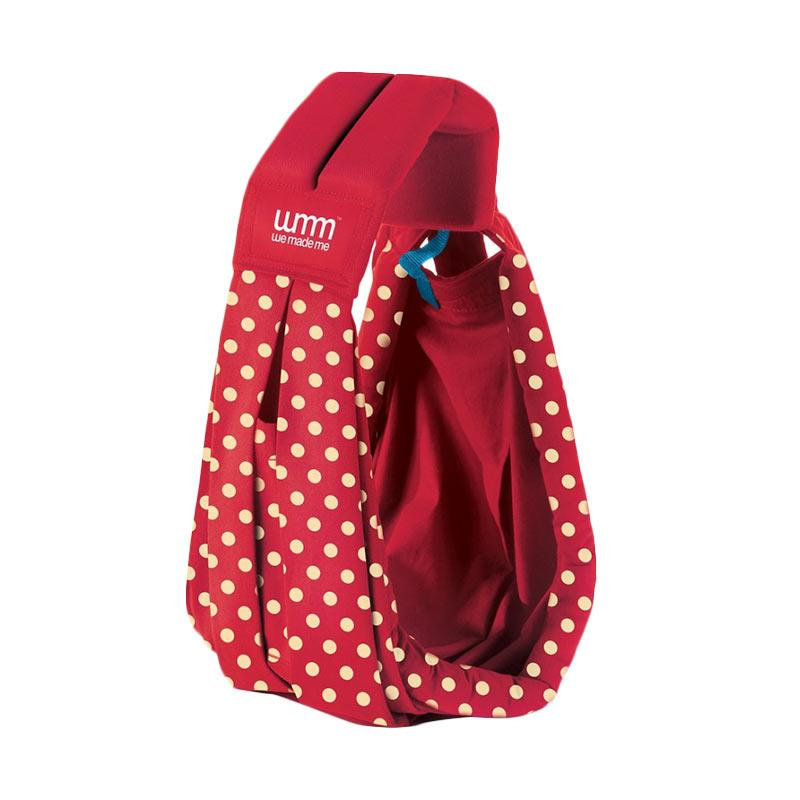 Soohu Sling Classic Special Edition Polka Gendongan Bayi - Red
