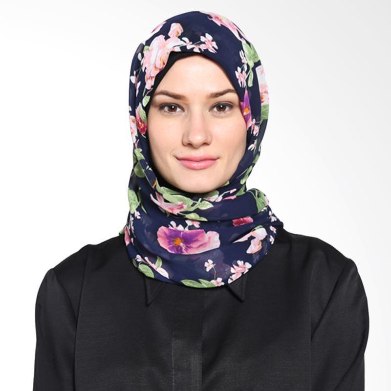 Tatuis Pashmina Damour 045 Pashmina Hijab - Navy