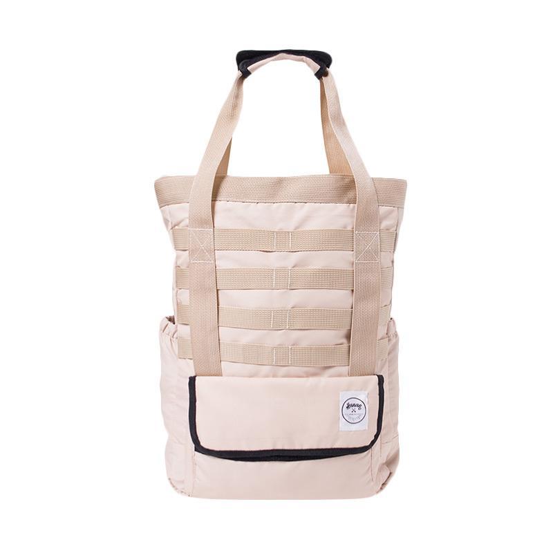 Hanan Project Slame Taslan Tote Bag - Cream