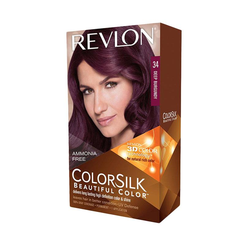 Revlon Color Silk Hair Color - Deep Burgundy