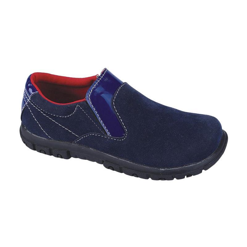 harga Syaqinah 53 Sepatu slip-On Anak Laki-Laki - Biru Blibli.com
