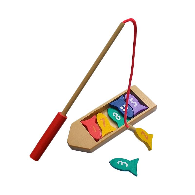 Wooden Toys Perahu Mancing Mainan Anak
