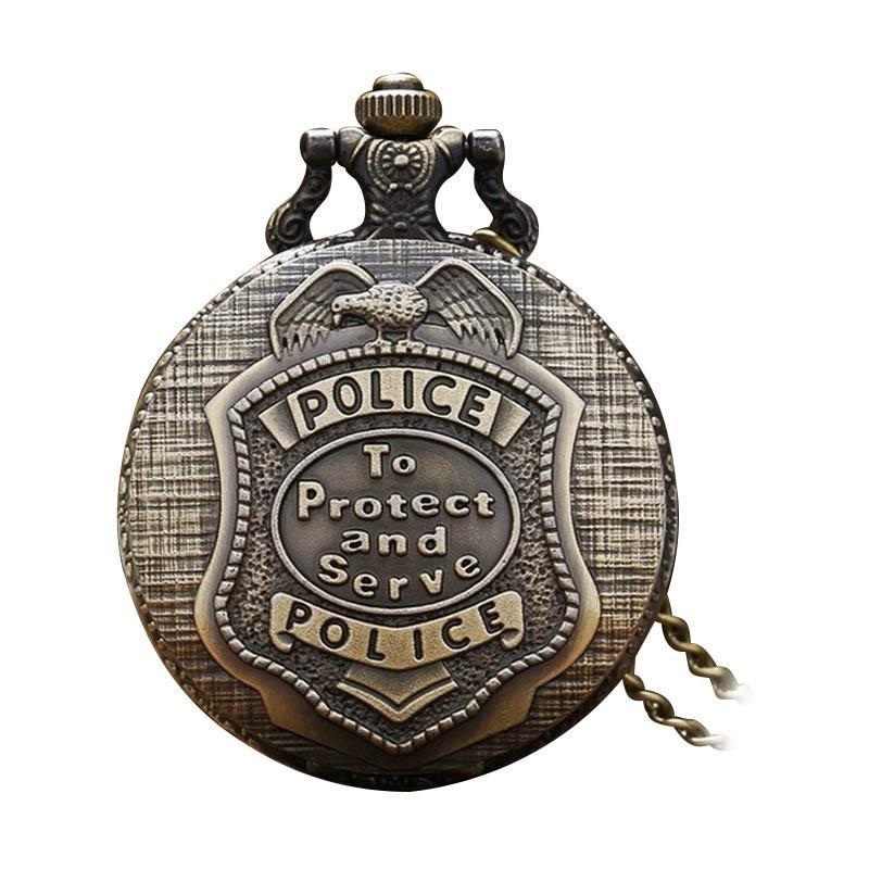 harga Anneui Klasik Vintage Retro PW9 Pocket Watch Blibli.com