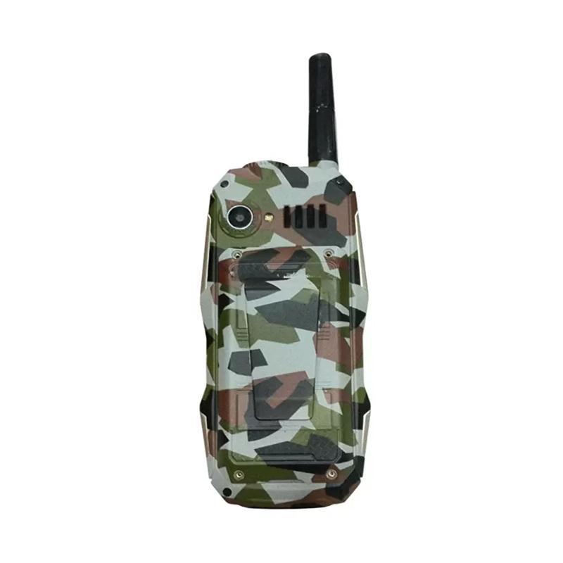 Brandcode B81 ARMY pro Big Speaker Handphone - Cokelat [Dual SIM/10000 mAh]