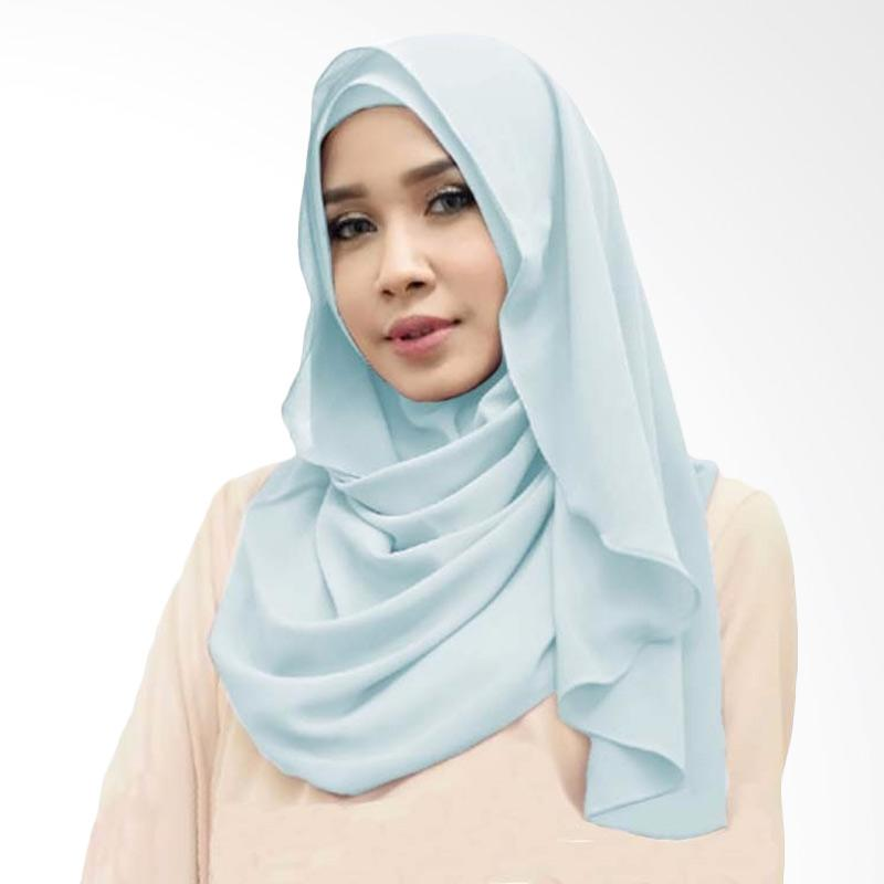 Kus Group Orchid Hijab Instant - Sky Blue