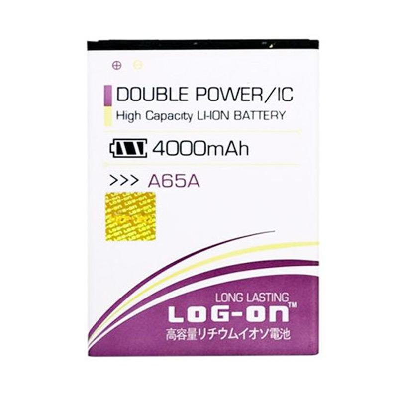 Log On Double Power Baterai for Evercoss A65A [4000 mAh]