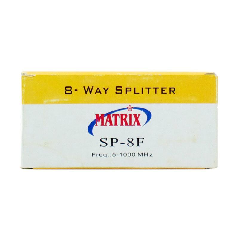 Matrix SP-8F 8 Way Splitter [Frekuensi 5-1000 MHZ]