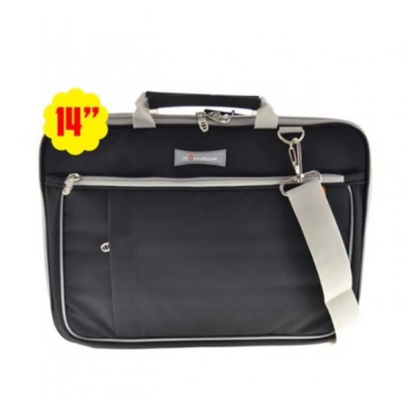 Mohawk DN77 Softcase Tas Laptop - Black Grey [14 Inch]