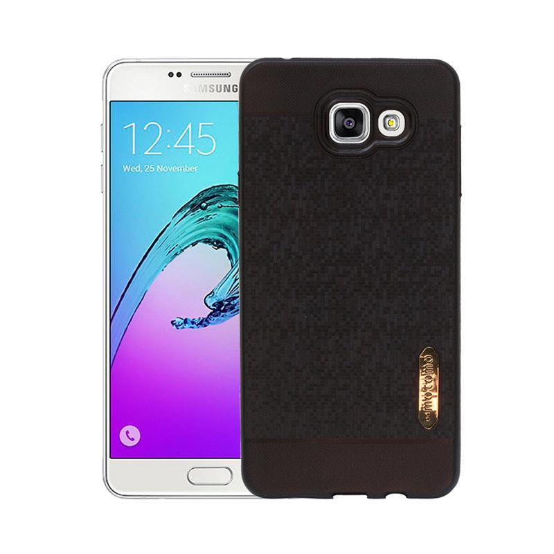 Motomo Softcase Casing for Samsung A7 2016 A710 - Black
