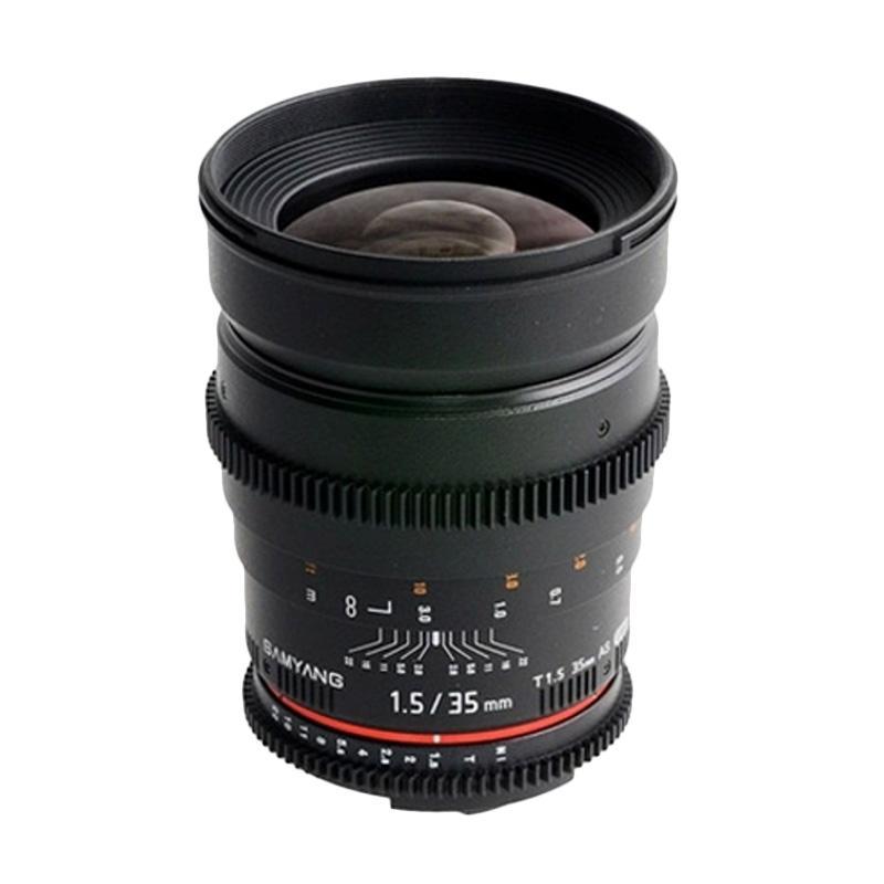 Samyang Lens 35mm T1.5 VDSLR MK II for Sony Nex