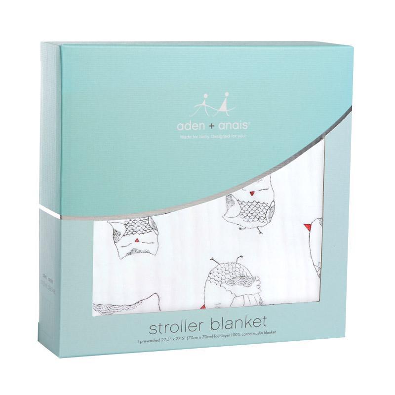 Aden+anais - Classic Stroller Blanket - Lovebird - Selimut Stroller Bayi dan Anak
