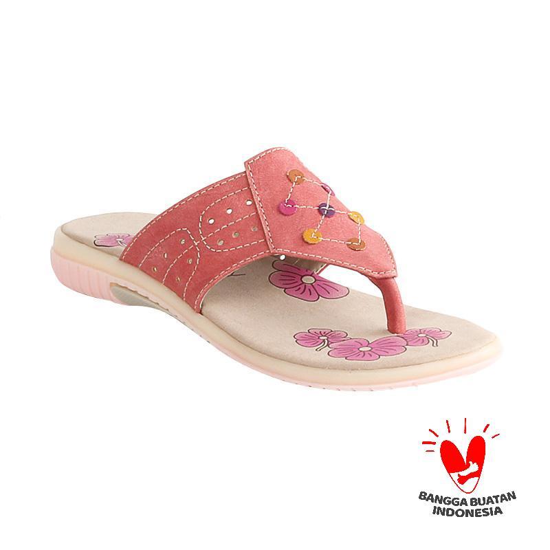 Blackkelly Alyssa LIF 487 Sandal Flip Flop Anak - Peach Pink