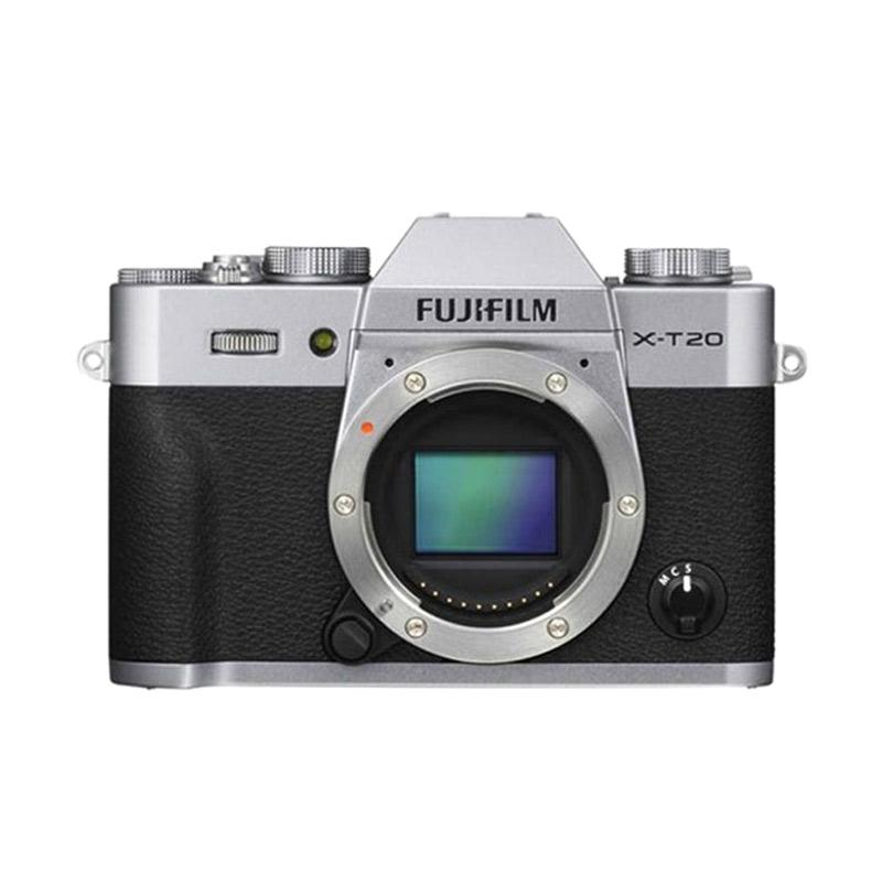 Fujifilm X-T20 Kamera Mirrorless [Body Only] -Silver +FREE Instax Share SP2