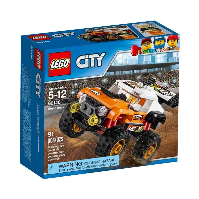 harga Lego City Stunt Truck 60146 Blocks & Stacking Toys Blibli.com