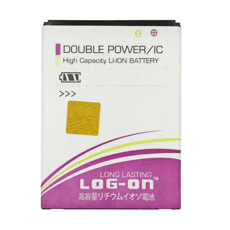 Log On Double Power Baterai for Evercoss A54C [2400 mAh]