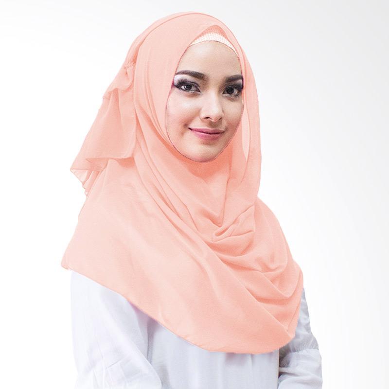 Milyarda Hijab Aime Kerudung Instan - Peach