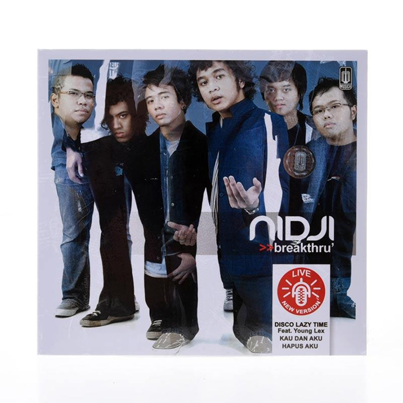Musica Studio Nidji Breakthru Audio CD