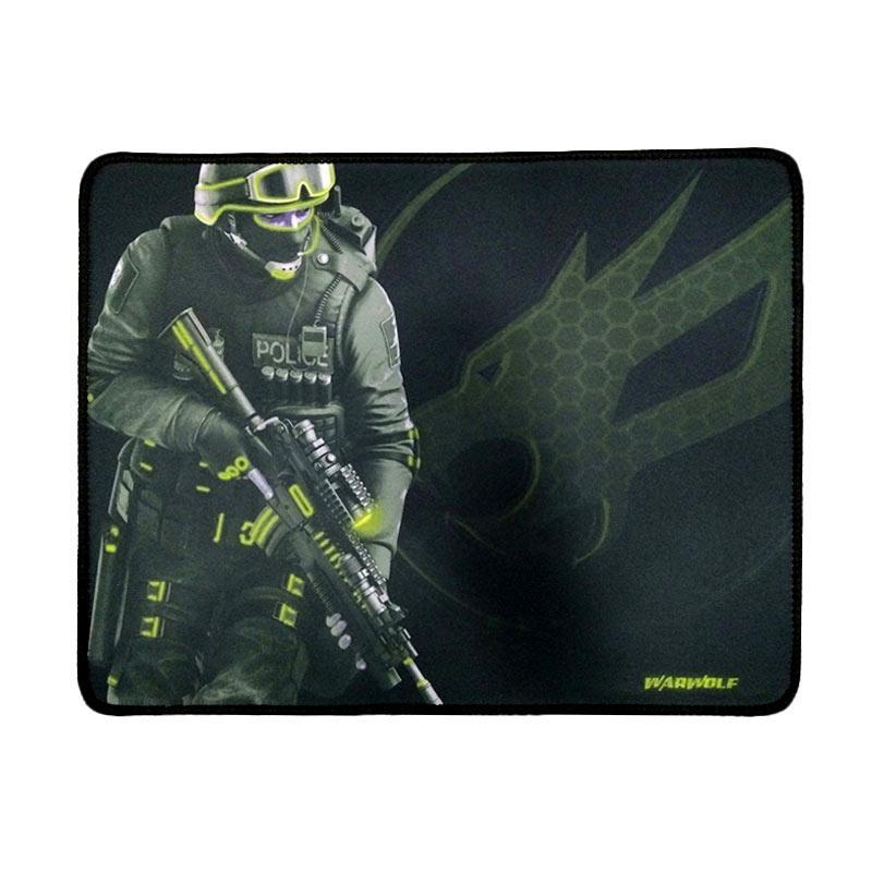 Warwolf Large Army Mousepad Gaming - Kuning