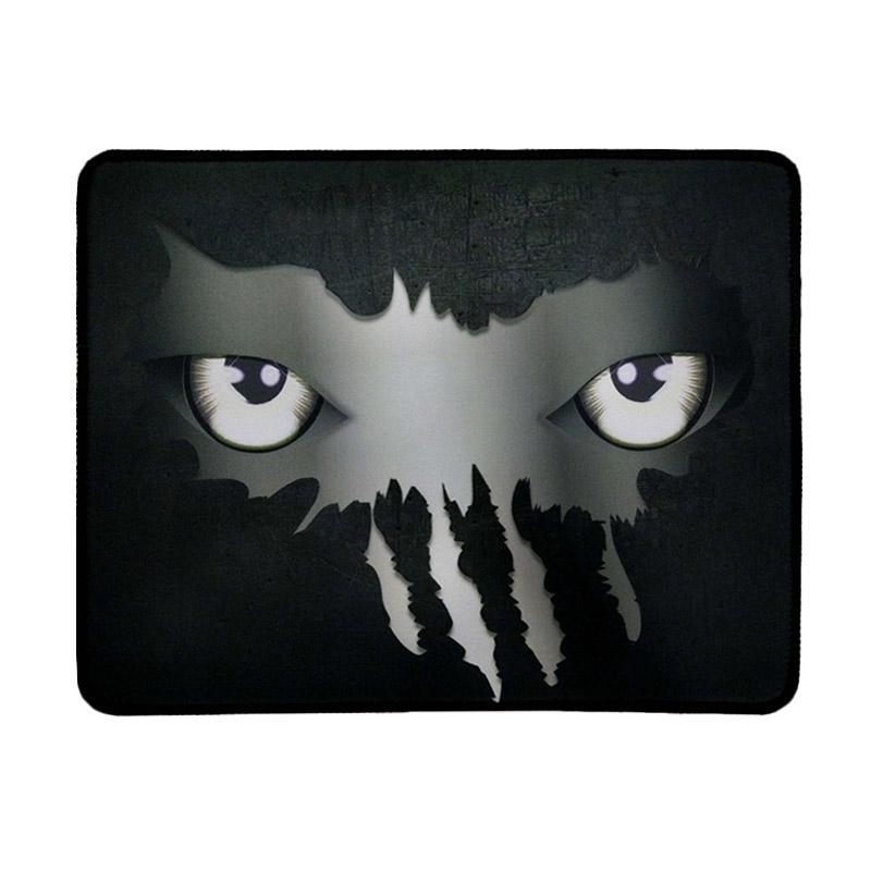 Warwolf Mata Gaming Mouse Pad - Putih [Size M]