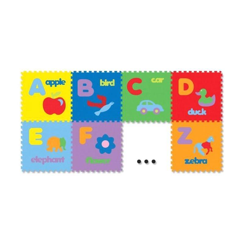 harga Puzzle Evamats Gambar Abjad Mainan Anak Edukasi Blibli.com