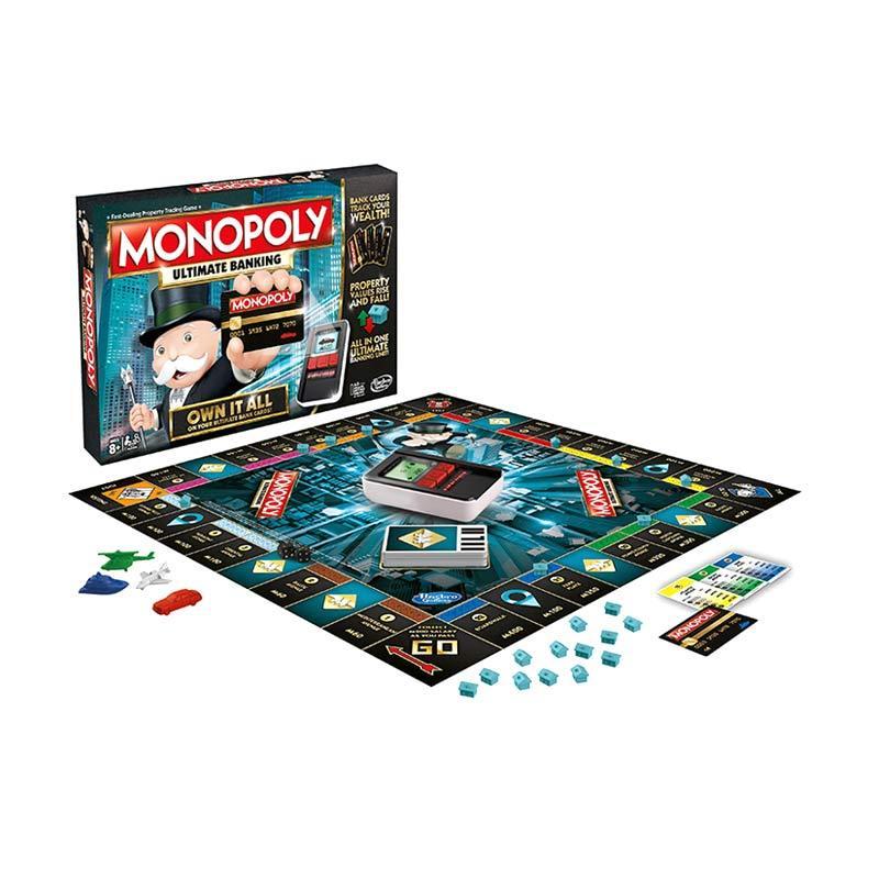 harga Hasbro B6677 Monopoly Ultimate Banking Board Game Blibli.com