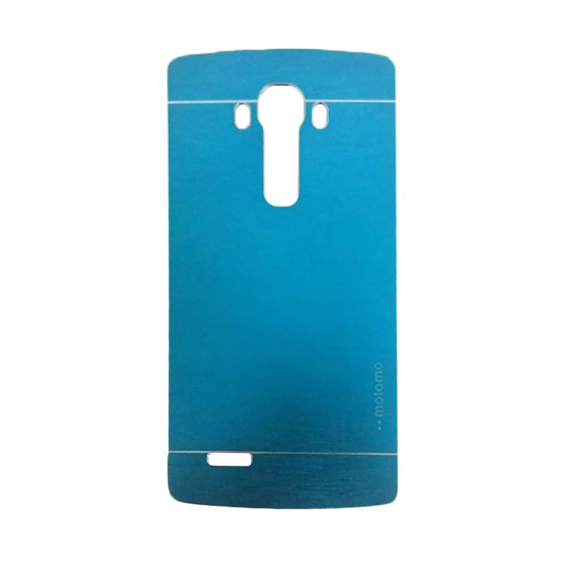 Motomo Metal Hardcase Casing for LG G4 - Sky Blue