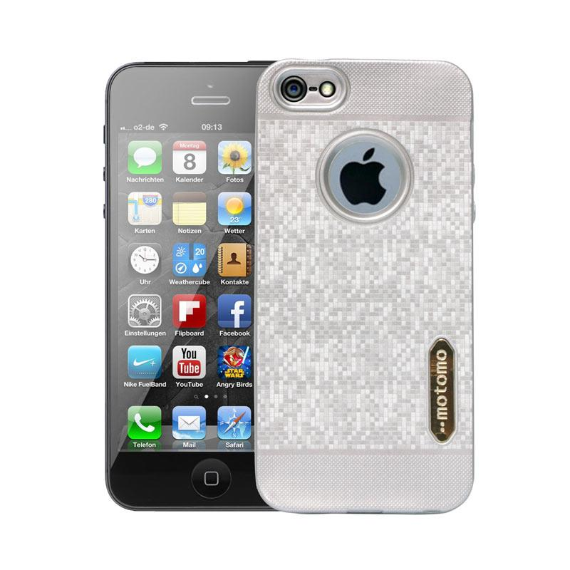 Motomo Softcase Casing for iPhone 5G - Silver