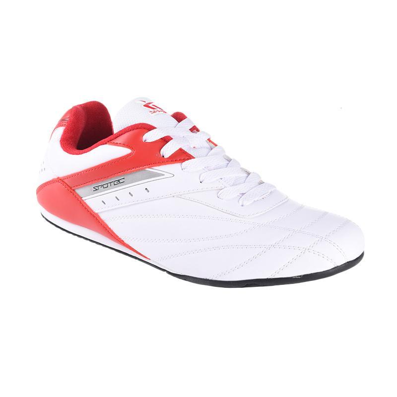 Spotec Corner Lace Corner Sepatu Olahraga - Red 1