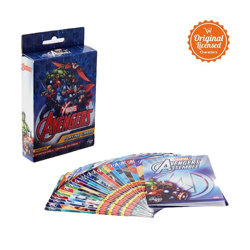 harga The Avengers Age of Ultron 3D Playing Card Blibli.com