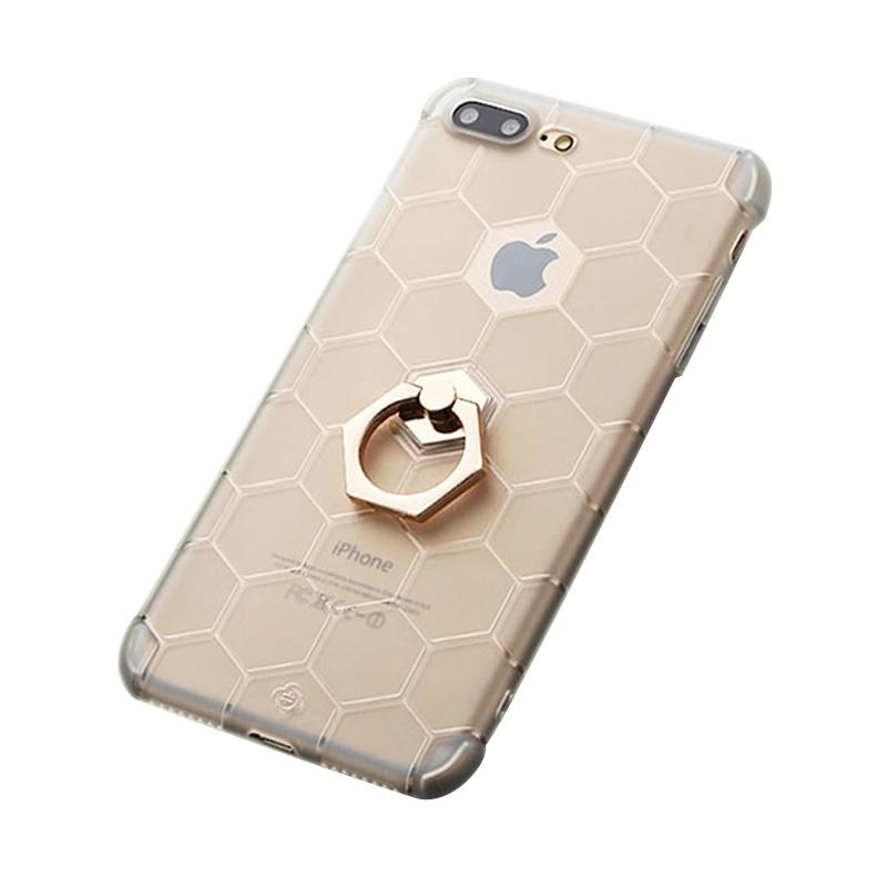 Totu Honeycomb Series Casing for iPhone 7 Plus - Gold