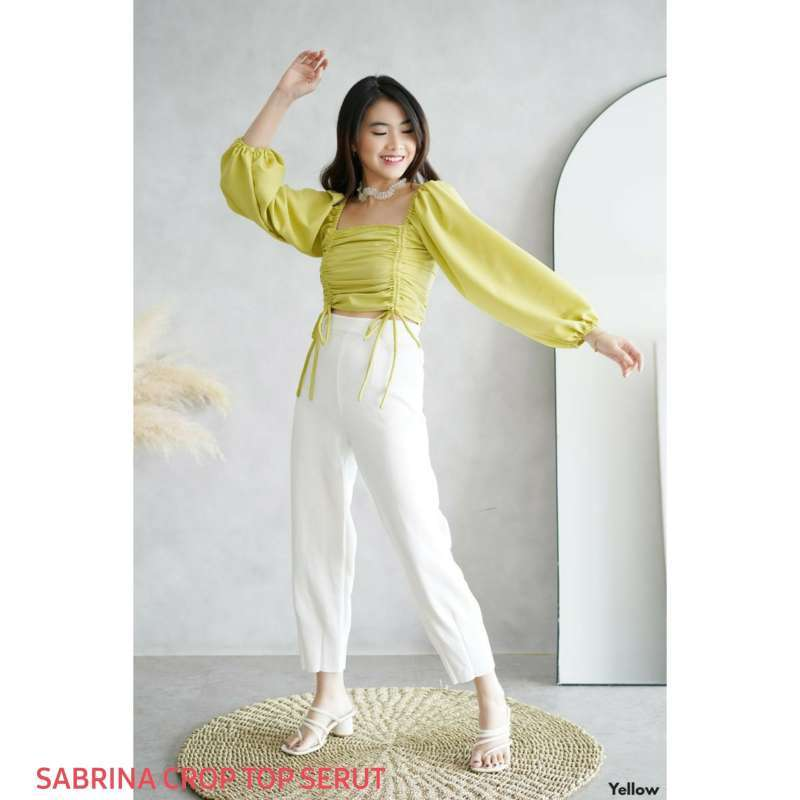 SABRINA CROP TOP SERUT