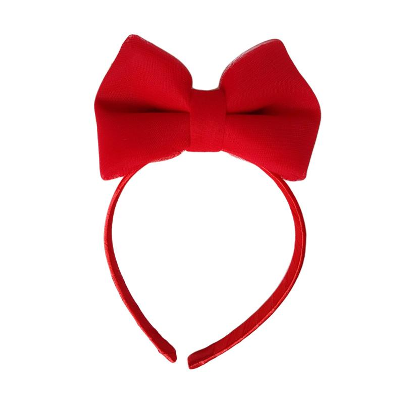 Essentia Minnie Tulle Hairband - Red