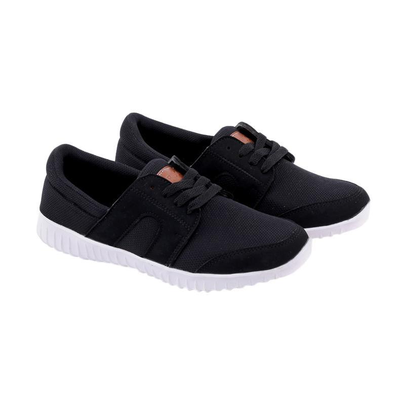 Garucci Running Shoes Sepatu Lari Pria - Black GNA 7264