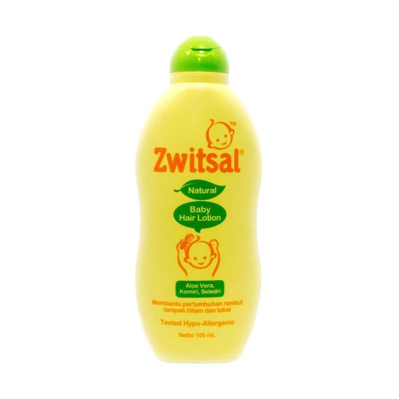 Zwitsal Natural Aloe Vera Kemiri Seledri Baby Hair Lotion [100 mL]