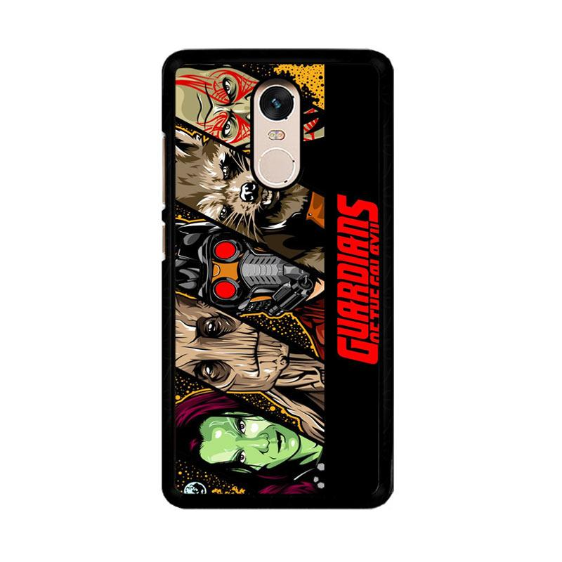 Flazzstore Guardian Of Galaxy 2 Z0544 Custom Casing for Xiaomi Redmi Note 4 or Note 4X Snapdragon Mediatek