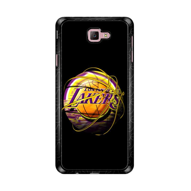 Flazzstore La Lakers Nba Z4760 Custom Casing for Samsung Galaxy J7 Prime