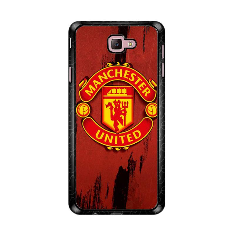 Flazzstore Manchester United Logo Z4790  Custom Casing for Samsung Galaxy J7 Prime