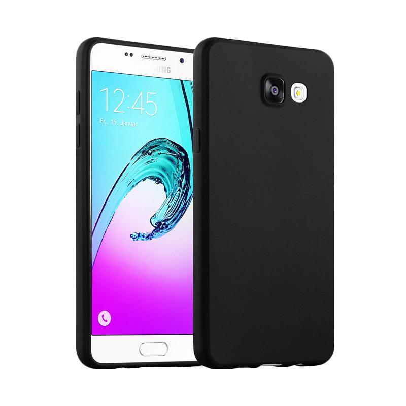 Lize Design Case Slim Anti Glare Silikon Casing for Samsung Galaxy J7 Prime - Hitam