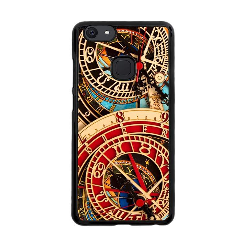 Flazzstore Astronomical Clock Vintage Classic F0332 Custom Casing for Vivo V7