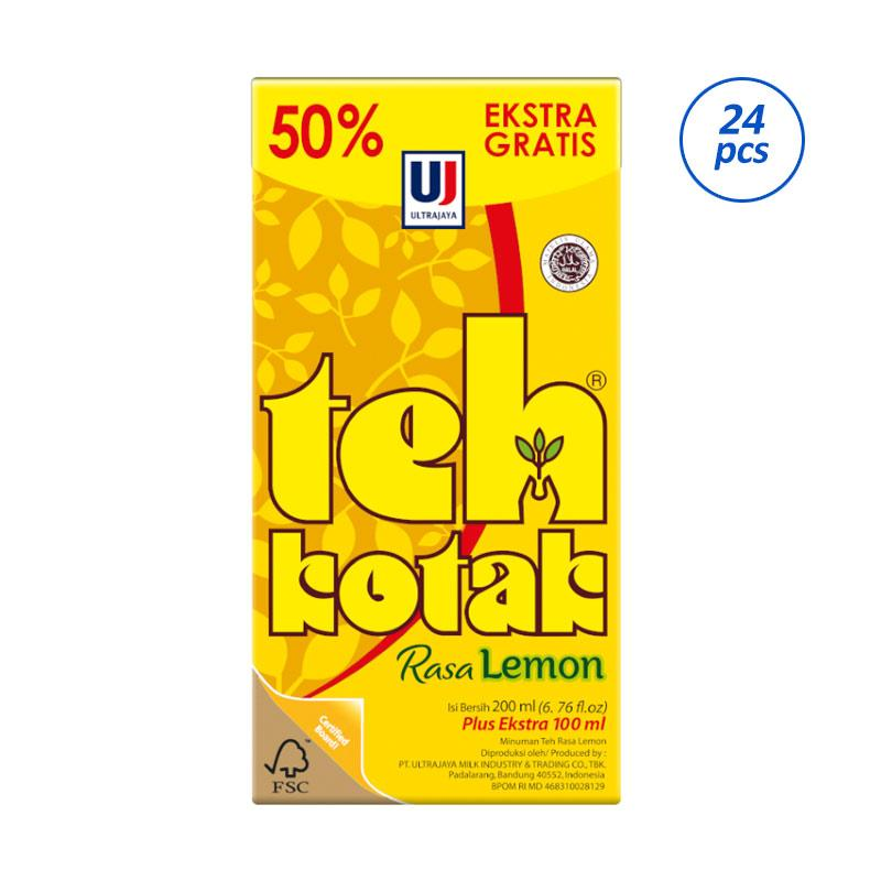jual ultra teh kotak rasa lemon box minuman teh 300 ml 24 pcs online november 2020 blibli com ultra teh kotak rasa lemon box minuman teh 300 ml 24 pcs